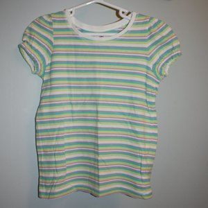 Girls Stripped T-Shirt (5T)/ Circo